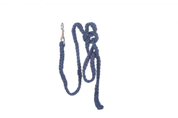 Führstrick in blau für Gartenpferde