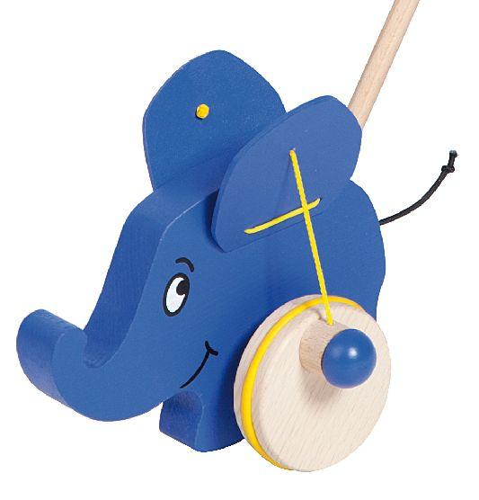 Schiebetier Elefant - exklusiv von Helga Kreft