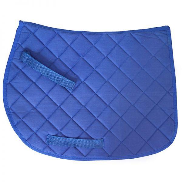 Schabracke für Gartenpferde Susi + Tamme, blau