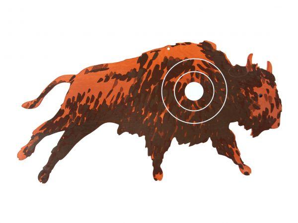 Zielscheibe Büffel