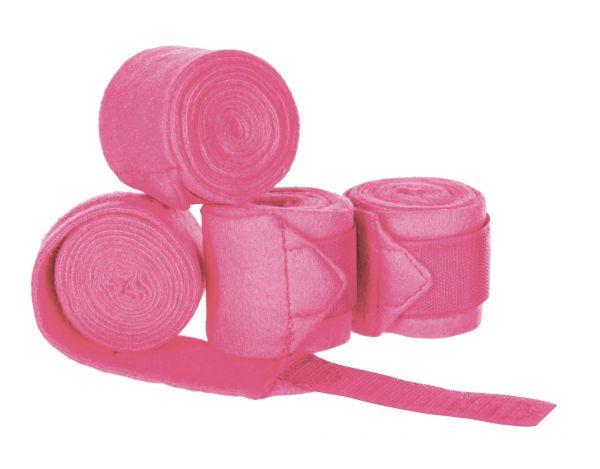 Bandagen in pink für Gartenpferde
