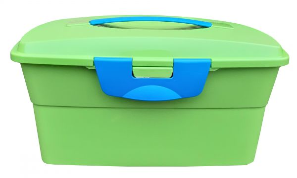 Putzbox für Gartenpferde