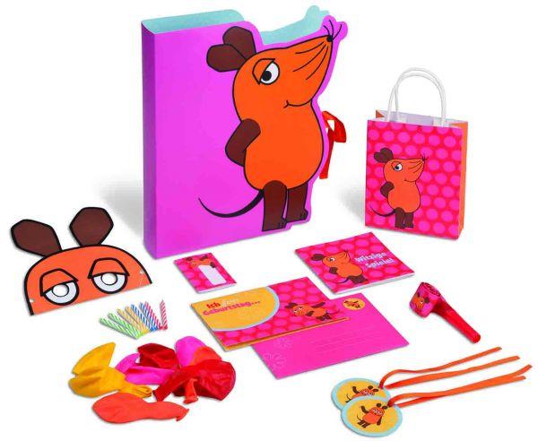 Geburtstagsset Die Maus (Mädchen)